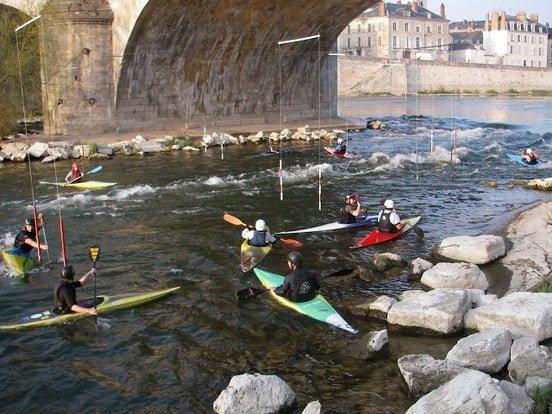 Pont Royal Orléans Slalom Kayak